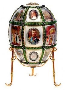 Uno dei pezzi esposti nella mostra Fabergè ai Musei Vaticani