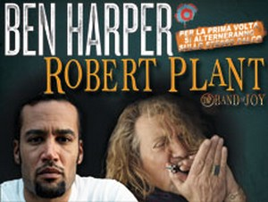 Ben Harper e Robert Plant a Rock in Roma 2011