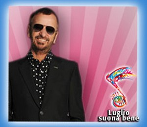 Ringo Starr in concerto a Roma (Luglio Suona Bene)