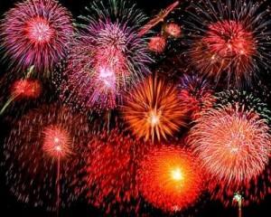 Festa de Noantri, i fuochi d'artificio