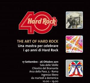 40 anni del'Hard Rock al Chiostro del Bramante